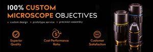 custom microscope objectives