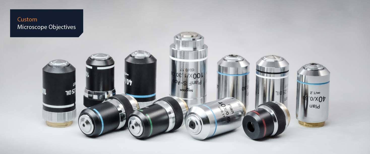 custom microscope objective