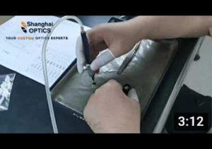 Custom Infrared Objective Lens Assembly Video